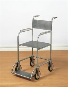 Untitled (Wheelchair) by Mona Hatoum