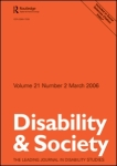 Disability and Society